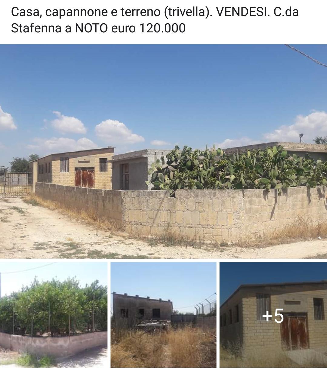 Casa con terreno a NOTO